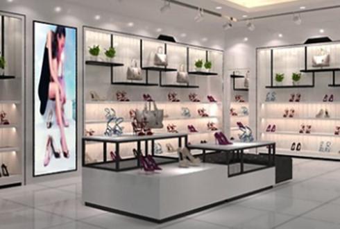 客户案例:鞋子展柜定制